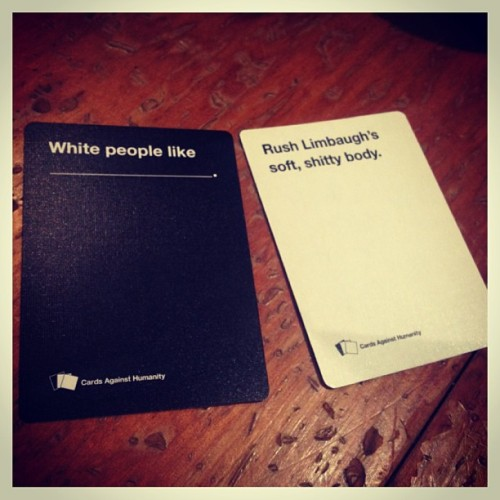lessonsforchildren:  Cards Against Humanity!
