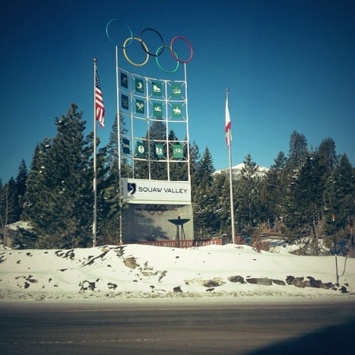 Hello lover. It's great to be back… (at Squaw Valley Ski Resort)
