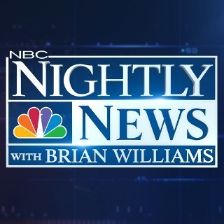 "I'm watching NBC Nightly News with Brian Williams    ""Alaskan Eruption, etc…""                      69 others are also watching.               NBC Nightly News with Brian Williams on GetGlue.com"