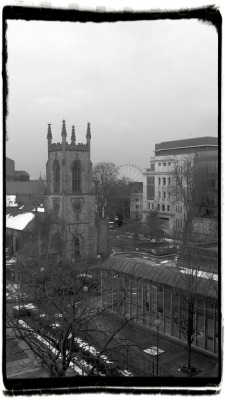 geekmonkey:  Office view Leeds View from my office today. http://flic.kr/p/e6yqhm