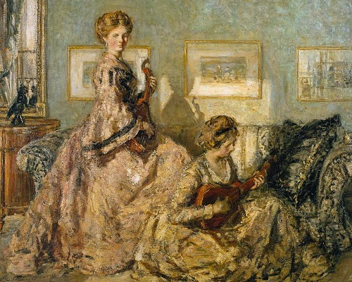 Philip Wilson Steer The Music Room 1905-06