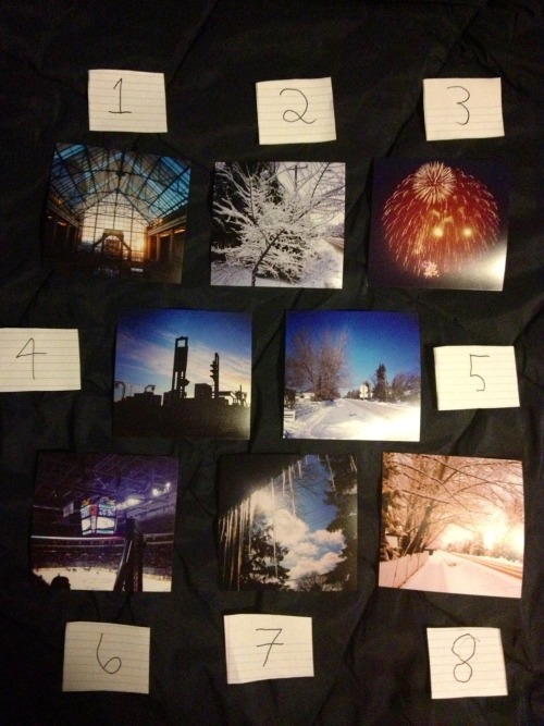 ok so, out of these 8 pictures I need to choose 5 to send in with my college entrance portfolio thing and I need help deciding.  http://instagram.com/guceubcuesu my instagram has them all up close  so which are your 5 favourites?