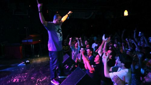 The response at last Thursday's show with Ghostface Killah at Cat's Cradle. I stepped on stage with only a few fans in the crowd and walked away with almost 400+ people chanting my name. Best feeling in the world!   Photography by Shamus Coneys