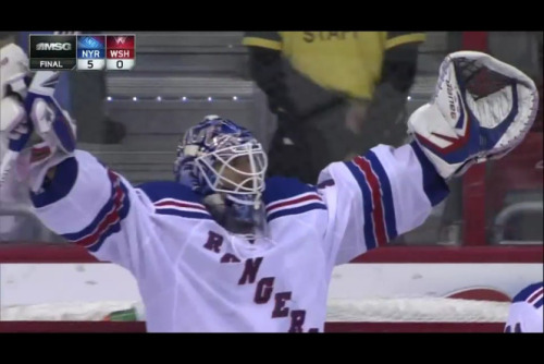 FINAL: Rangers 5 Caps 0Read: SNY Rangers Blog