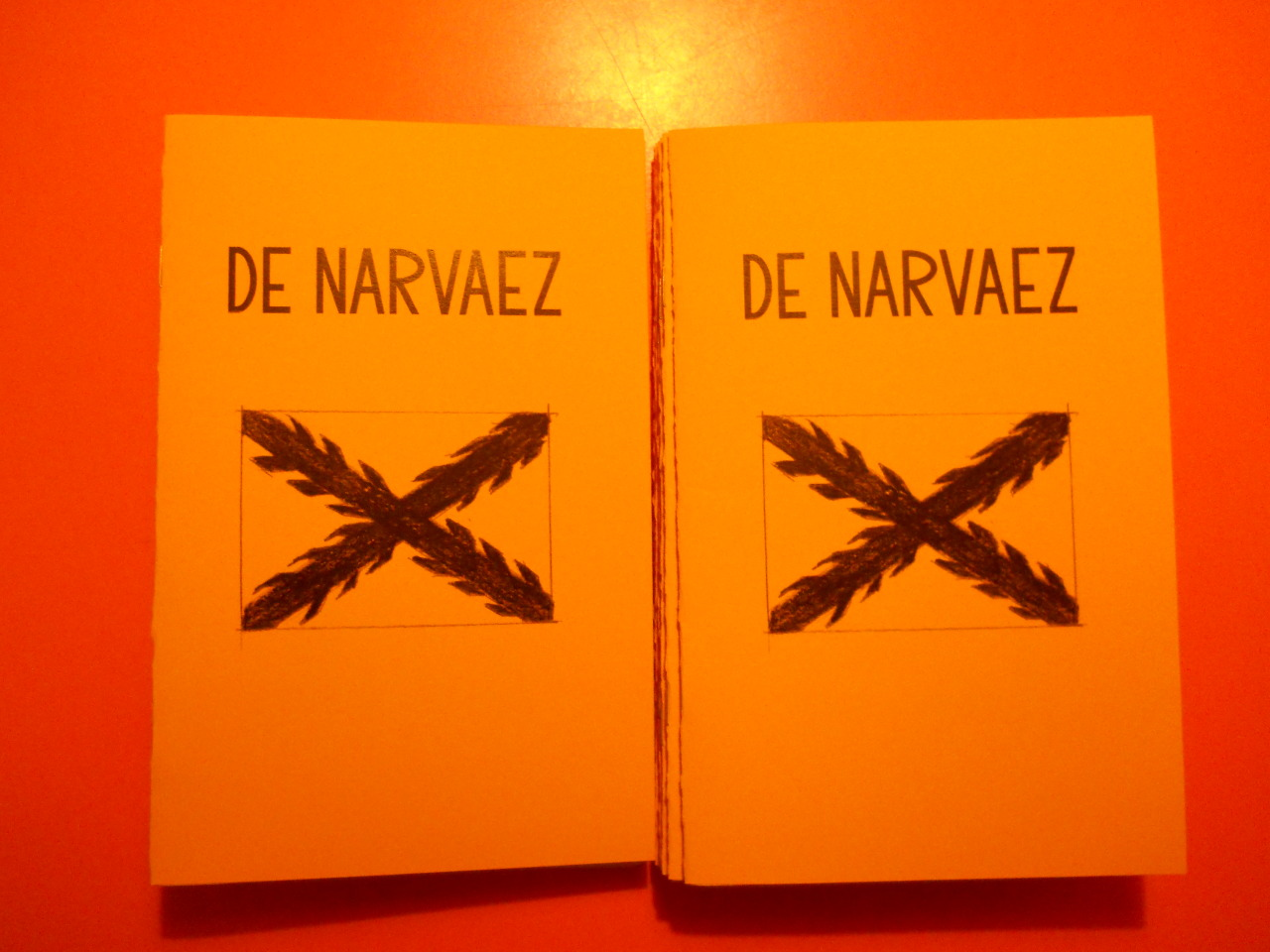 New zine DE NARVAEZ debuting next week at Brooklyn Zine Fair.
