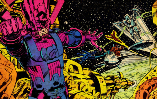 GALACTUS AND THE FANTASTIC FOUR