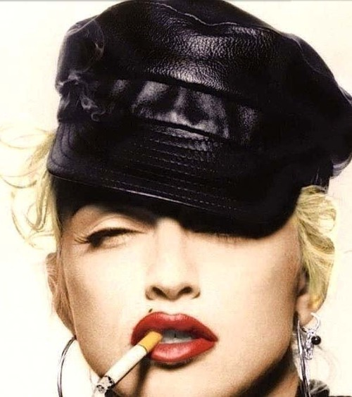 #Madonna - Justify My Love colorized