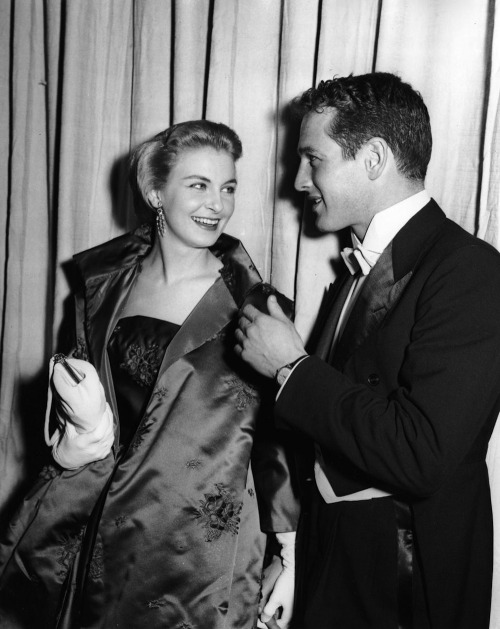 speechofangels:  Joanne Woodward and Paul Newman (1957)