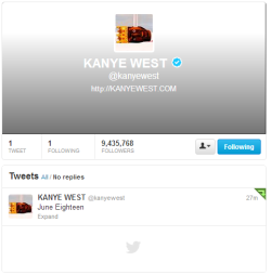 #KANYETWEETED: June Eighteen