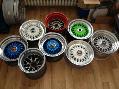 notanothercarblog:  myf3tish:  My bbs collection I WANT THE VERY BOTTOM LEFT ONE D: Someone please tell me what they're called!