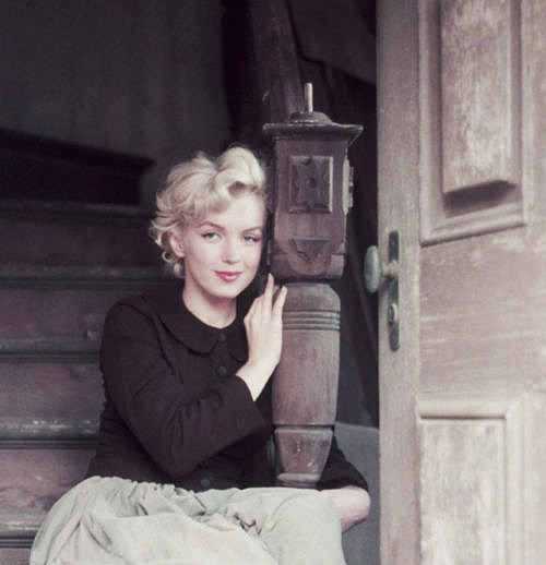 clarabows:  Marilyn Monroe by Milton Greene, 1954.