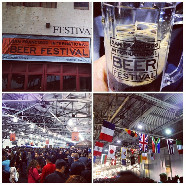 Bottoms up! #beer #beerfestival #sf @yvnne_le @lambcar @ryanjefferychan