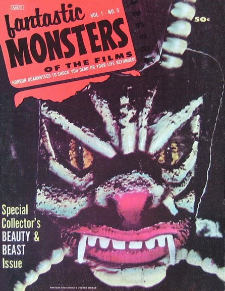 Fantastic Monsters Of The Films #5 (1963)