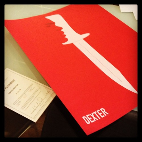 Just a few #dexter posters left