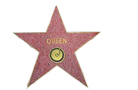 transparent-like-your-balls:  Queen's star is on your blog transparent my edit