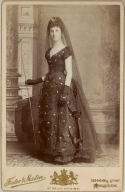 carolathhabsburg:  What a wonderful costume! 1880s