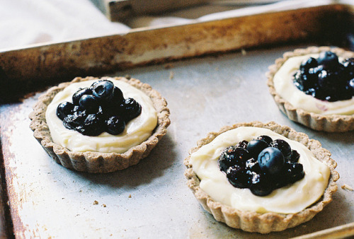 coldheartx:  blueberry tarts by yossy | apt2bbakingco on Flickr.