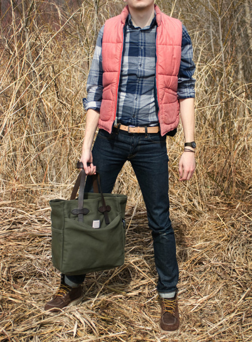 filson tote, i want you in my life one day.