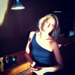 Annie!! Feeling the post ☀ #yoga bliss // #yeg #ilovesattva cc: @annieannieg