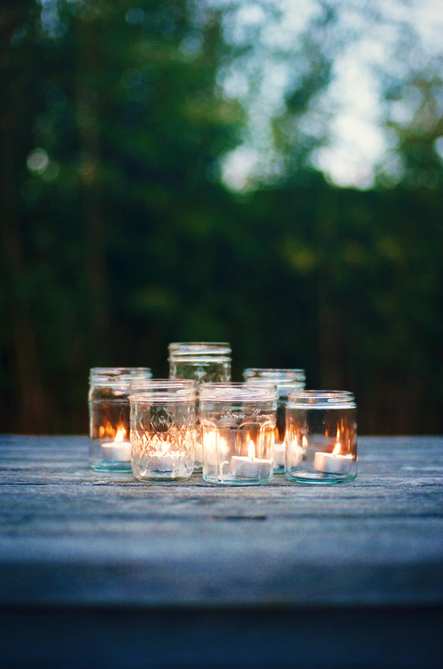 Candles in Jars on We Heart It. http://weheartit.com/entry/47197913/via/roooonnniie