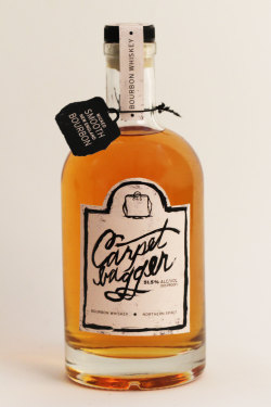 "Carpetbagger Bourbon Whiskey- ""100% Yankee Gumption"""