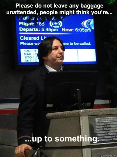 tastefullyoffensive:   Air Snape I don't know why but I love these.  You could make a million of these and it still wouldn't be enough.