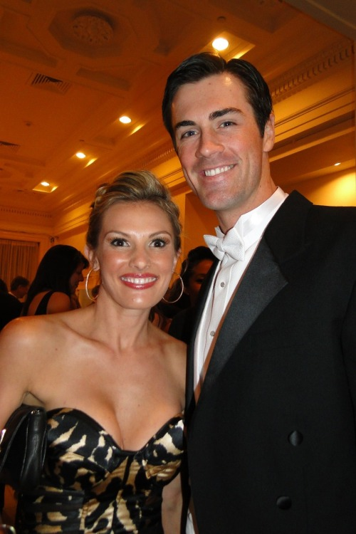Cole and Heidi Hamels attend the Academy of Music's 156th anniversary concert and ball.