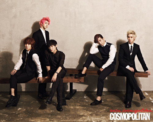 khwabo:  MBLAQ - Cosmopolitan Korea June Issue '13