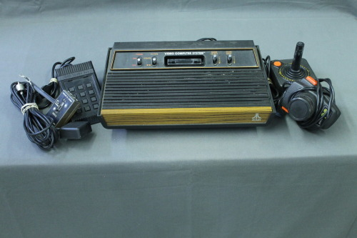Trying to win this sexy beast on eBay. I've always loved how the Atari 2600 4-switch woodgrain model looked.