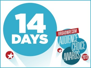 broadwaycom:  14 Days to Go! 2012 BACA Winner (and Host) Darren Criss Inspired the Most Fan Art!