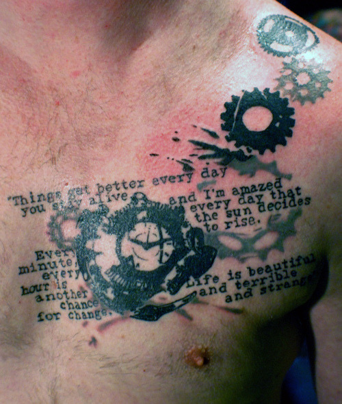 tattoonorama:  The way is light and fluid for the man withno preferences.—Lao-tzu