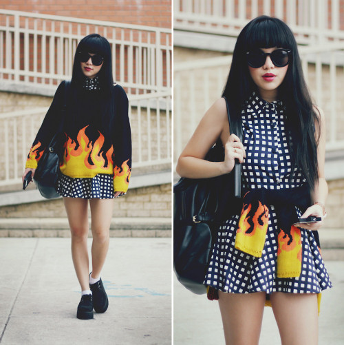 lookbookdotnu:  Burning (by Willabelle Ong)