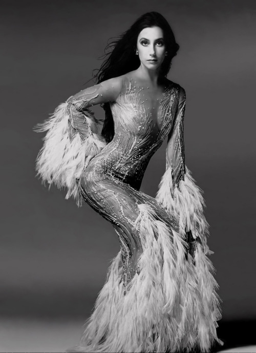 HAPPY BIRTHDAY, @CHER! Serving Bob Mackie fierce REALNESS!