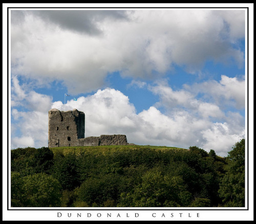 archaicwonder:  Dundonald Castle is a fortified tower house built for Robert II on his accession to the throne of Scotland in 1371. It was used as a royal residence by the early Stewart kings for the next 150 years. The castle is situated on a hill overlooking the village of Dundonald, between Kilmarnock and Troon in South Ayrshire, Scotland. by emozione dolce