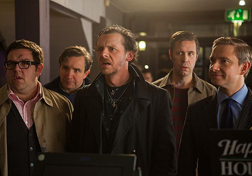 scatmancrothers:   First still from Edgar Wright's The World's End (2013)  I FORGOT HOW WORDS WORK