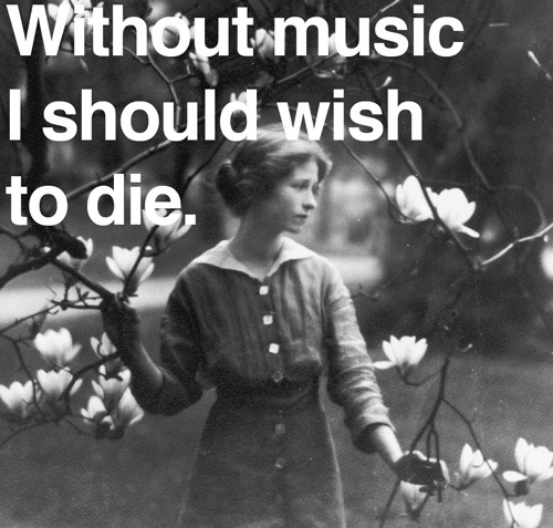 Edna St. Vincent Millay on the love of music – a beautiful 1920 letter.