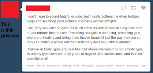 thisisthinprivilege:  This is thin privilege.