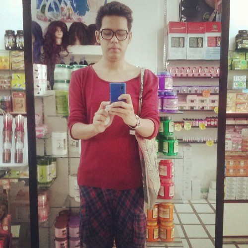 Spent last day in Iloilo looking for cosplay goodies. #selca #selfie #ootd