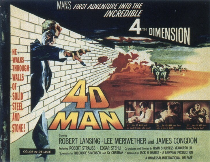 vintagecoolillustrated:  4D Man