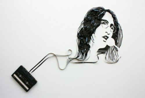 Wall decoration for people addicted to music!