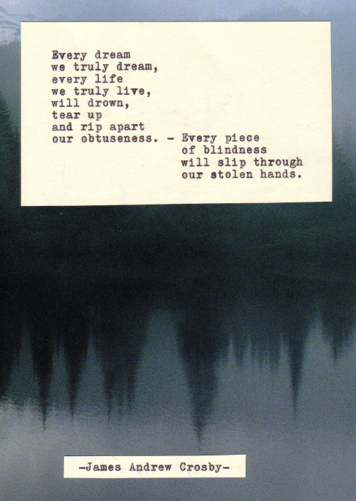 jamesandrewcrosby:  Typewriter Poetry #287 by James Andrew Crosby