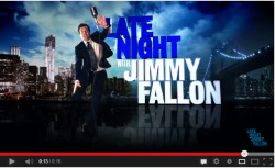 #Jimmy Fallon  Jimmy Fallon jumping :P