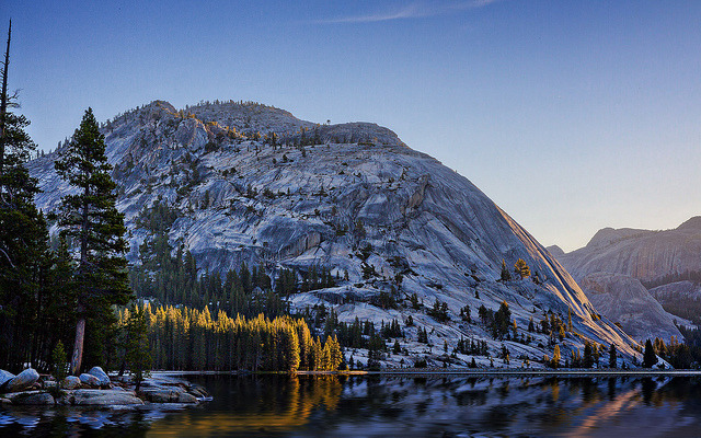 Tenaya Lake, Yosemite by PrevailingConditions on Flickr.