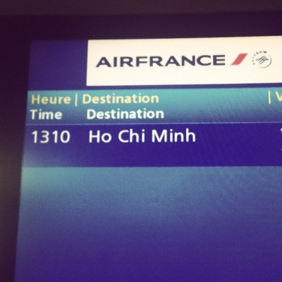 Off to #Vietnam! (bij Aéroport Paris-Charles de Gaulle (CDG))