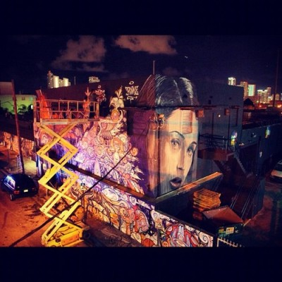 #phibs putting on the final touches #rone #meggs #miami #everfresh