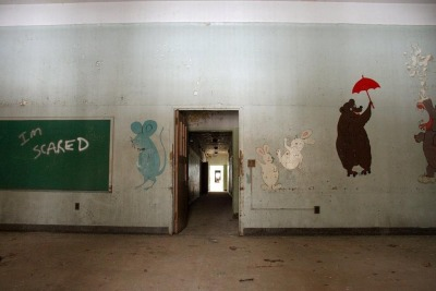 lonewolfnerd:  Abandoned Psychiatric Hospital.