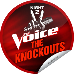 I just unlocked the The Voice Season 4: The Knockouts Night 2 sticker on GetGlue                      5586 others have also unlocked the The Voice Season 4: The Knockouts Night 2 sticker on GetGlue.com                  The knockout rounds are in full swing! Which has been the toughest decision so far? Thanks for tuning into The Voice tonight! Keep watching on Mondays and Tuesdays at 8/7c on NBC. Share this one proudly. It's from our friends at NBC.