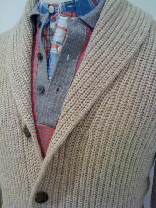 Cool layering for spring. The Club Monaco way!