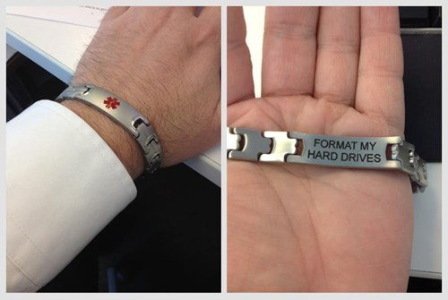The only Medic Alert bracelet you really need.