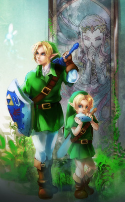 hylian-pudding:  LoZ - Time by *Miyukiko